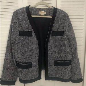 Navy Tweed Micheal Kors jacket